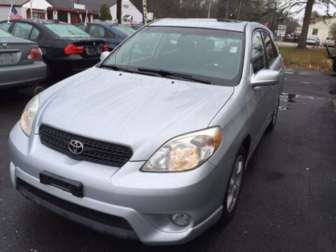 2007 Toyota Matrix for sale at Route 123 Motors in Norton MA