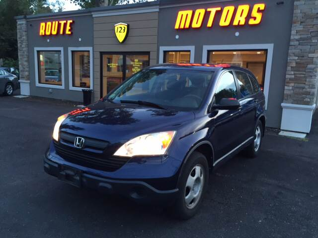 2007 Honda CR-V for sale at Route 123 Motors in Norton MA