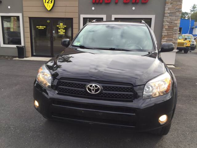 2007 Toyota RAV4 for sale at Route 123 Motors in Norton MA