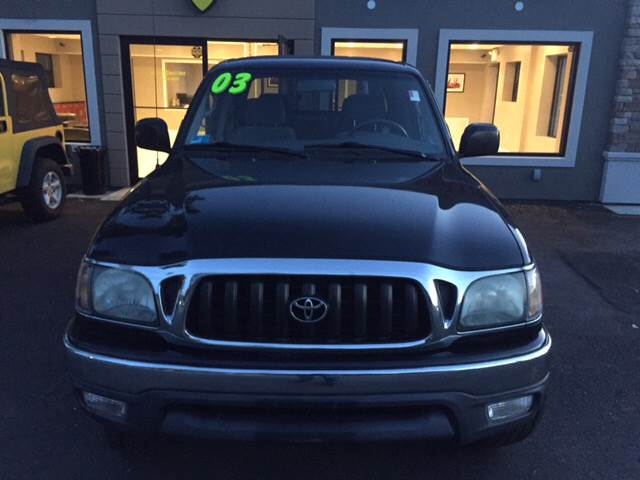 2003 Toyota Tacoma for sale at Route 123 Motors in Norton MA