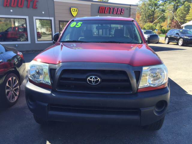 2005 Toyota Tacoma for sale at Route 123 Motors in Norton MA