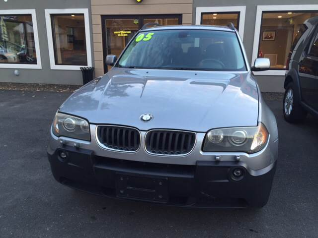 2005 BMW X3 for sale at Route 123 Motors in Norton MA