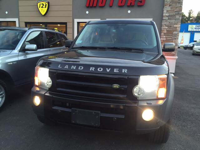 2008 Land Rover LR3 for sale at Route 123 Motors in Norton MA