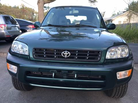 2000 Toyota RAV4 for sale at Route 123 Motors in Norton MA