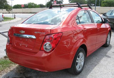 2012 Chevrolet Sonic for sale at Marathon Automotive Group in San Antonio TX
