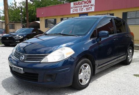 2008 Nissan Versa for sale at Marathon Automotive Group in San Antonio TX