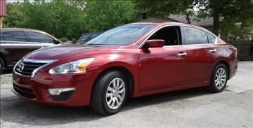 2014 Nissan Altima for sale at Marathon Automotive Group in San Antonio TX