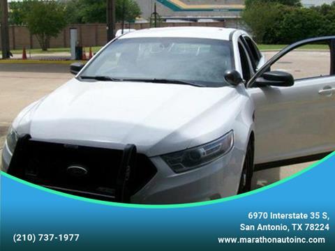 2013 Ford Taurus for sale at Marathon Automotive Group in San Antonio TX