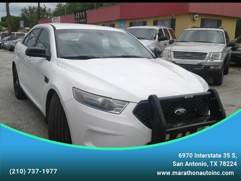 2014 Ford Taurus for sale at Marathon Automotive Group in San Antonio TX
