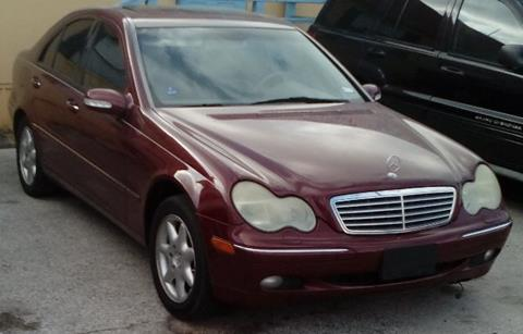 2001 Mercedes-Benz C-Class for sale at Marathon Automotive Group in San Antonio TX
