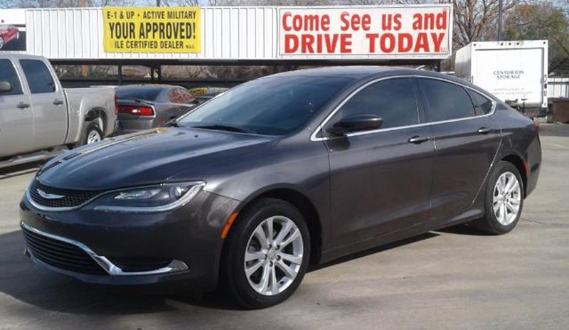 2015 Chrysler 200 For Sale >> 2015 Chrysler 200 Limited In San Antonio Tx Marathon Automotive Group