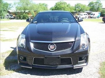 2015 Cadillac CTS-V for sale at Marathon Automotive Group in San Antonio TX