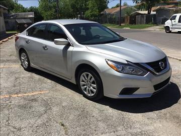 2016 Nissan Altima for sale at Marathon Automotive Group in San Antonio TX