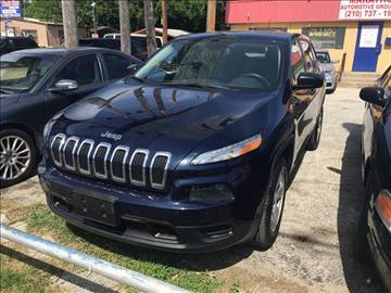 2014 Jeep Cherokee for sale at Marathon Automotive Group in San Antonio TX