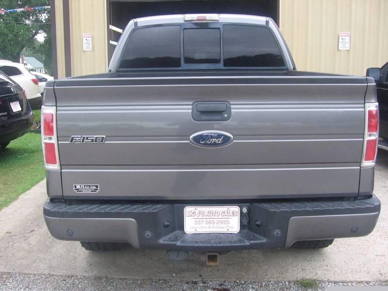 2009 Ford F-150 4x4 FX4 4dr SuperCrew Styleside 5.5 ft. SB - Carencro LA