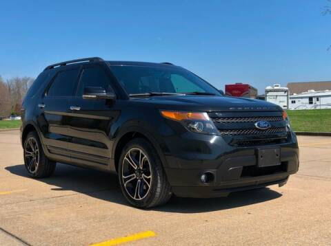2013 Ford Explorer Sport for sale at First Auto Credit in Jackson MO