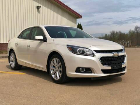 2014 Chevrolet Malibu LTZ for sale at First Auto Credit in Jackson MO