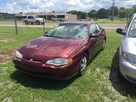 2001 Chevrolet Monte Carlo for sale in Athens, TN