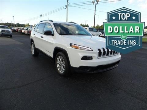 2016 Jeep Cherokee for sale in Cleveland, GA
