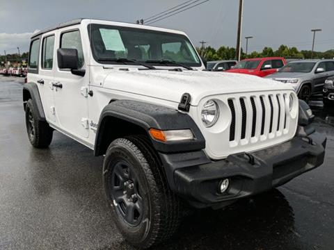 2018 Jeep Wrangler Unlimited for sale in Cleveland, GA