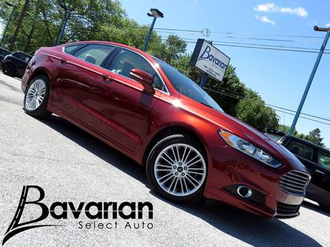 2014 Ford Fusion for sale in Mechanicsburg PA