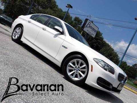 2014 BMW 5 Series for sale in Mechanicsburg PA