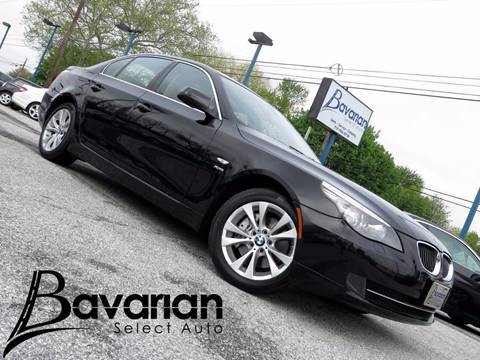 2010 BMW 5 Series for sale in Mechanicsburg, PA