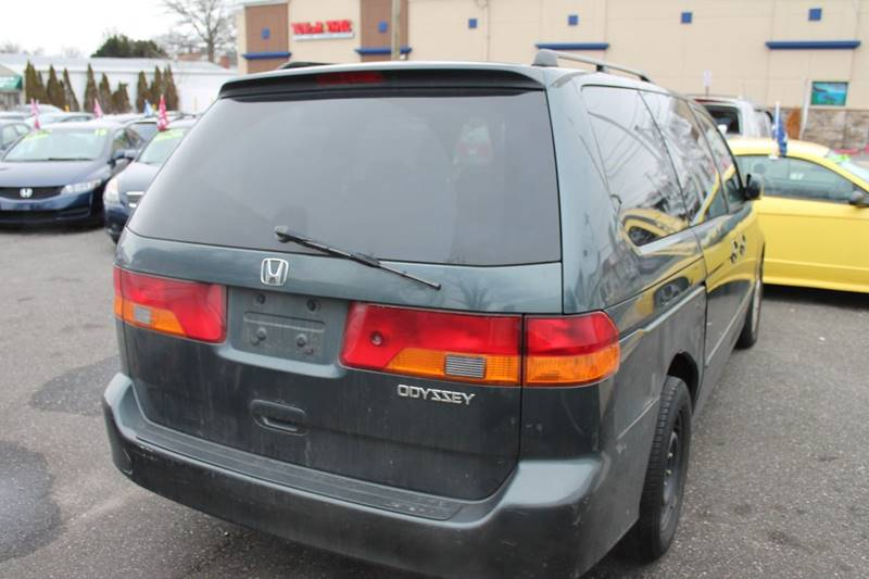 Exceptional 2003 Honda Odyssey EX L 4dr Mini Van W/DVD And Leather