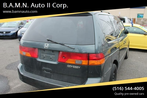 2003 Honda Odyssey for sale at B.A.M.N. Auto II Corp. in Freeport NY
