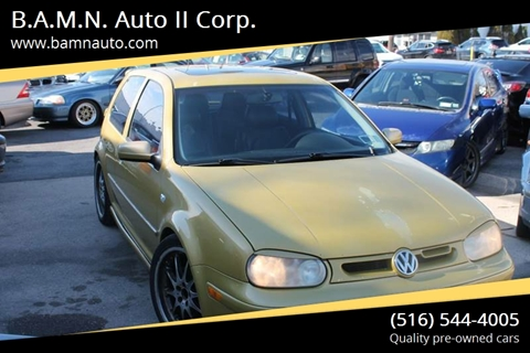 2000 Volkswagen GTI for sale at B.A.M.N. Auto II Corp. in Freeport NY