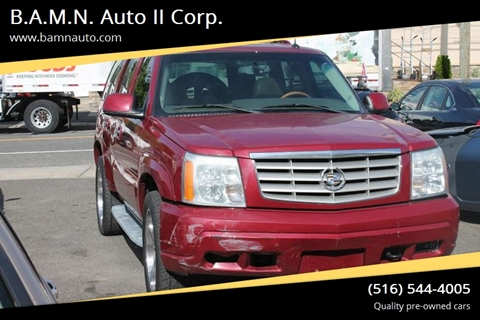 2004 Cadillac Escalade for sale at B.A.M.N. Auto II Corp. in Freeport NY