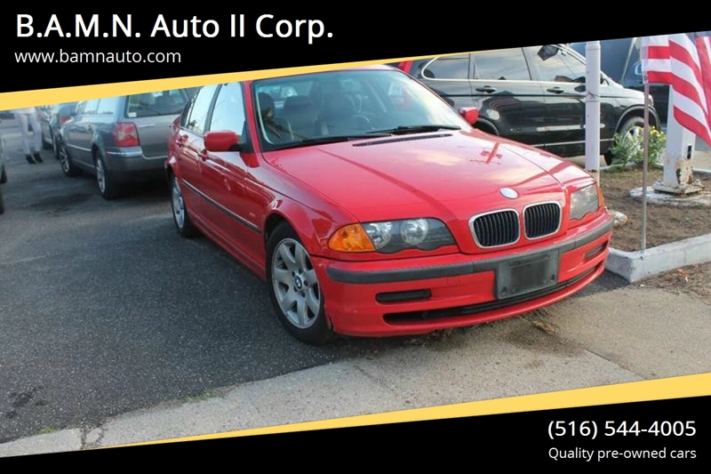 2000 Bmw 3 Series 323i 4dr Sedan In Baldwin NY - B A M N  Auto II Corp