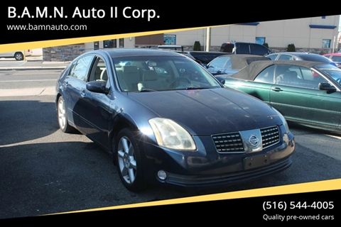 2004 Nissan Maxima for sale at B.A.M.N. Auto II Corp. in Freeport NY