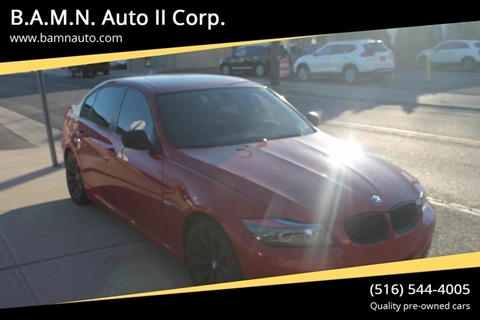 2011 BMW 3 Series for sale at B.A.M.N. Auto II Corp. in Freeport NY