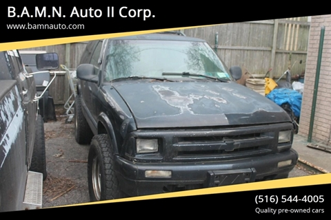 1997 Chevrolet Blazer for sale at B.A.M.N. Auto II Corp. in Freeport NY
