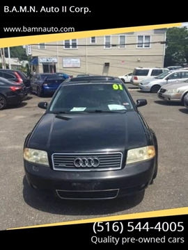 2001 Audi A6 for sale at B.A.M.N. Auto II Corp. in Freeport NY