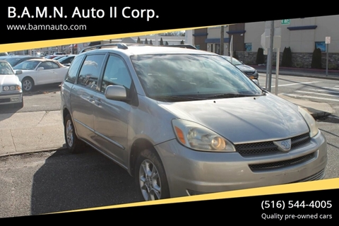 2004 Toyota Sienna for sale at B.A.M.N. Auto II Corp. in Freeport NY