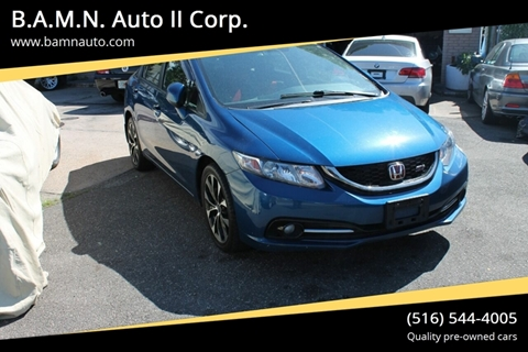 2013 Honda Civic for sale at B.A.M.N. Auto II Corp. in Freeport NY