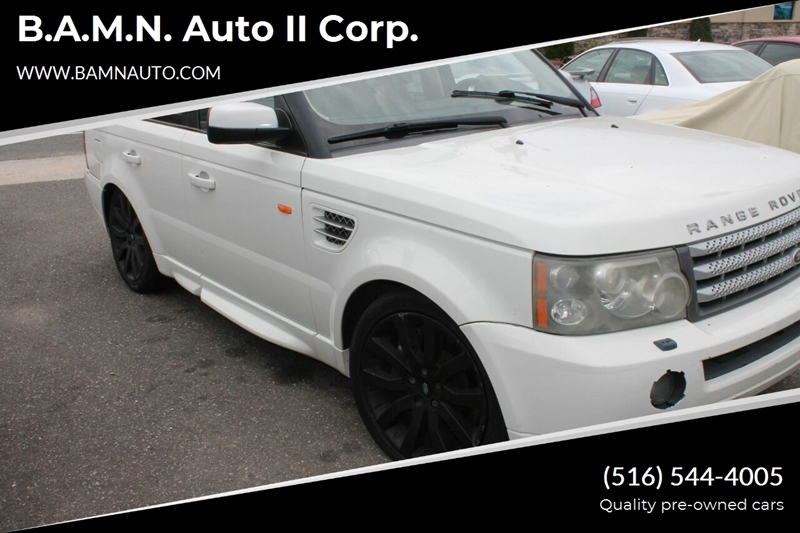 2007 Land Rover Range Rover Sport for sale at B.A.M.N. Auto II Corp. in Freeport NY
