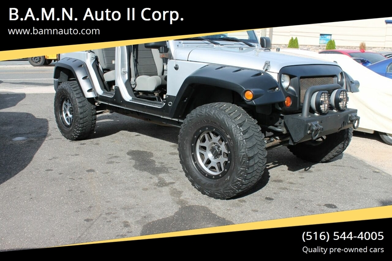 2007 Jeep Wrangler Unlimited for sale at B.A.M.N. Auto II Corp. in Freeport NY