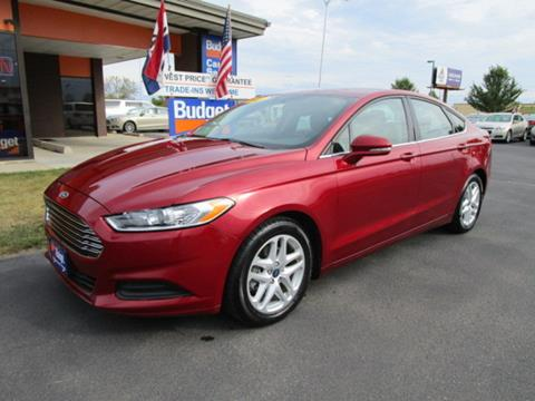 2016 Ford Fusion for sale in Cedar Rapids, IA
