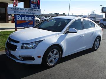 2015 Chevrolet Cruze for sale in Cedar Rapids, IA