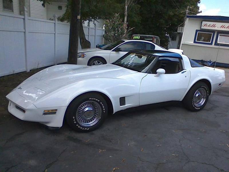 1981 Chevrolet Corvette In Old Forge PA - Petillo Motors