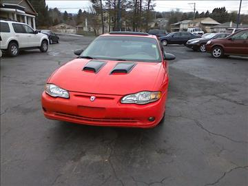 2001 Chevrolet Monte Carlo for sale in Old Forge, PA