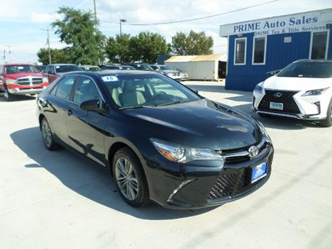2015 Toyota Camry for sale at Prime Auto Sales in Baltimore MD