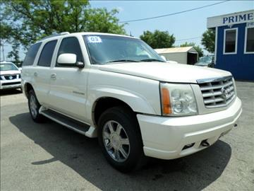 2003 Cadillac Escalade for sale at Prime Auto Sales in Baltimore MD