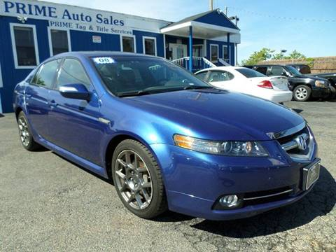 2008 Acura TL for sale at Prime Auto Sales in Baltimore MD