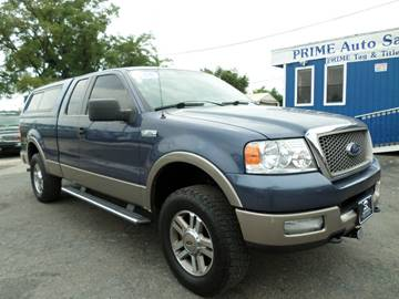 2005 Ford F-150 for sale at Prime Auto Sales in Baltimore MD