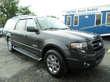 2007 Ford Expedition EL for sale at Prime Auto Sales in Baltimore MD
