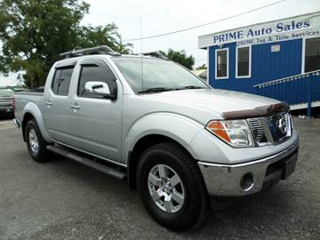 2007 Nissan Frontier for sale at Prime Auto Sales in Baltimore MD
